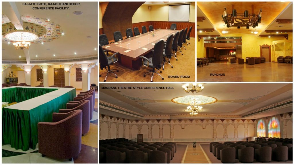 Excellent Conference Facilities at Chokhi Dhani Hotels, Jaipur